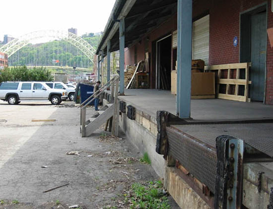 Front Loading Docks Of Pittsburgh Warehouse